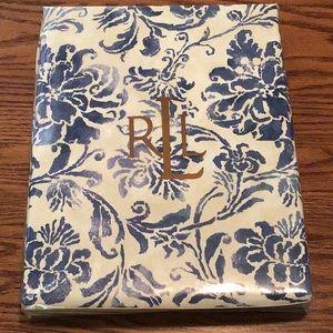 NWT Ralph Lauren Floral Print Batik Tablecloth